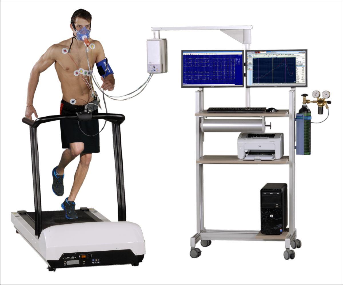 Piston: Ergospirometer exercise test